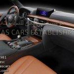 2016 Lexus LX dashboard leaked image