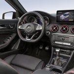 2016 Mercedes A Class AMG Line (facelift) interior revealed press image