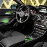 2016 Mercedes A Class Sport (facelift) interior revealed press image