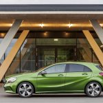 2016 Mercedes A Class Sport (facelift) side revealed press image