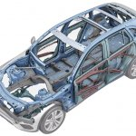 2016 Mercedes GLC body structure unveiled press images