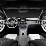 2016 Mercedes GLC dasboard unveiled press images
