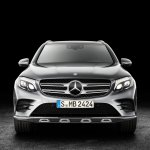 2016 Mercedes GLC front (1)unveiled press images