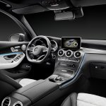 2016 Mercedes GLC front cabin unveiled press images