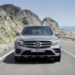 2016 Mercedes GLC front unveiled press images