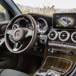 2016 Mercedes GLC interior unveiled press images