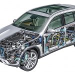 2016 Mercedes GLC internals unveiled press images