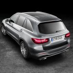 2016 Mercedes GLC rear quarter (1) unveiled press images