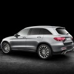 2016 Mercedes GLC rear three quarter (1) unveiled press images