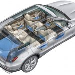 2016 Mercedes GLC storage space unveiled press images