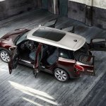 2016 Mini Clubman S top rear with doors open official gallery surfaces