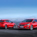 2016 Opel Astra front and rear leaked