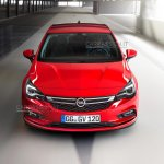 2016 Opel Astra front fascia leaked