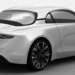 2016 Renault Alpine near-production concept rear three quarter revealed in patent images
