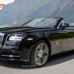 2016 Rolls Royce Dawn front three quarter unofficial render