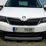 2016 Skoda Rapid Scout front spotted undisguised