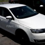 2016 Skoda Rapid Scout front three quarter spotted undisguised
