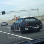 2016 Volvo S90 rear three quarter test mule spied for first time