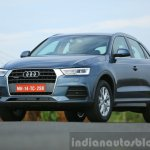 Audi Q3 facelift front fascia India Review
