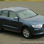 Audi Q3 facelift front three quarter India Review