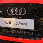 Audi RS6 Avant grille India launch