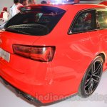 Audi RS6 Avant rear quarter India launch