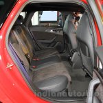 Audi RS6 Avant rear seat India launch
