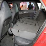 Audi RS6 Avant rear seats folded India launch