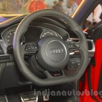 Audi RS6 Avant steering India launch