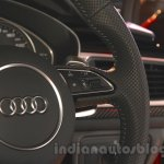 Audi RS6 Avant steering controls India launch