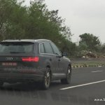 Audi SQ7 rear India spied