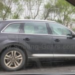 Audi SQ7 side India spied