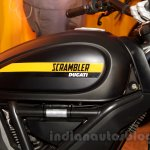 Ducati Scrambler Full Throttle tank India