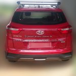 Hyundai Creta Base rear spied