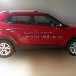 Hyundai Creta SX side spied