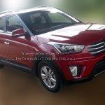 Hyundai Creta SX spied