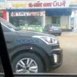 Hyundai Creta fender revealed spyshots