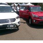 Hyundai Creta front diesel spied