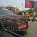 Hyundai Creta front spied Chennai
