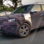 Hyundai Creta front spied New Delhi