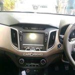 Hyundai Creta interior diesel spied