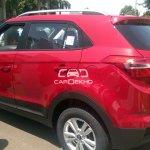 Hyundai Creta rear quarter diesel spied