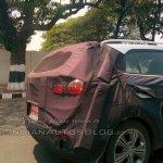 Hyundai Creta rear quarter spied Chennai