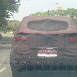 Hyundai Creta rear spied Chennai