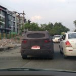 Hyundai Creta rear spied New Delhi