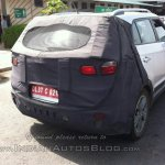 Hyundai Creta rear spied Noida
