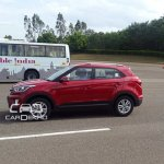 Hyundai Creta side diesel spied