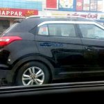 Hyundai Creta side revealed spyshots