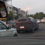 Hyundai Creta spied New Delhi