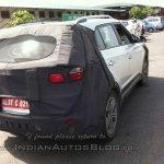 Hyundai Creta spied Noida